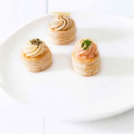 Vol au vent saumon