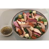 Salade de poulet et viande fumée