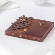 Brownie caramel