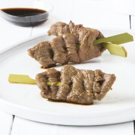 Brochette asiatique filet de bœoeuf