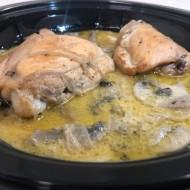 Penne pesto poulet pané
