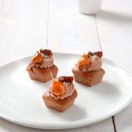 Pain d'épices foie gras charmoula