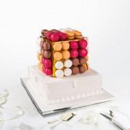 Cube macarons