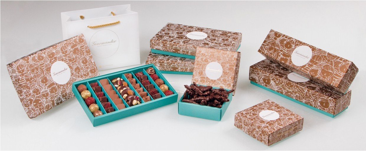 Les assortiments de chocolats gourmands
