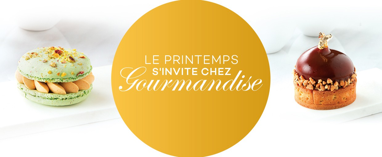 LE PRINTEMPS  S'INVITE CHEZ GOURMANDISE