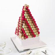 Macarons en pyramide